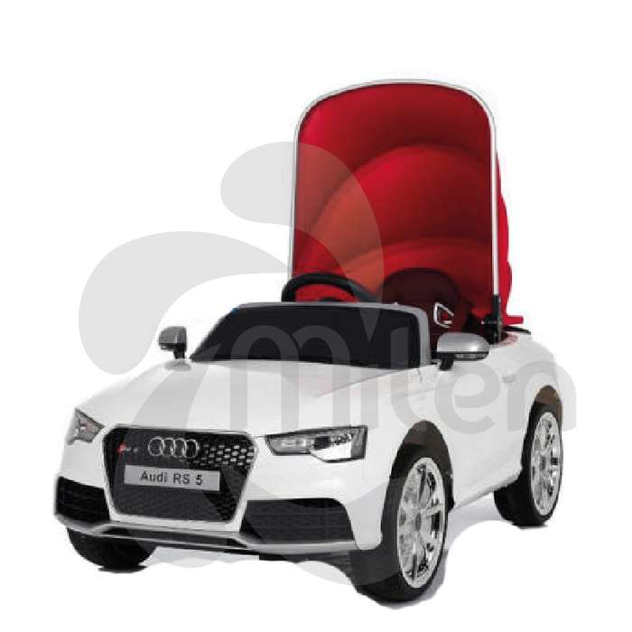 Audi RS5 Convertible Eléctrico niños montable, control remoto, USB Musica