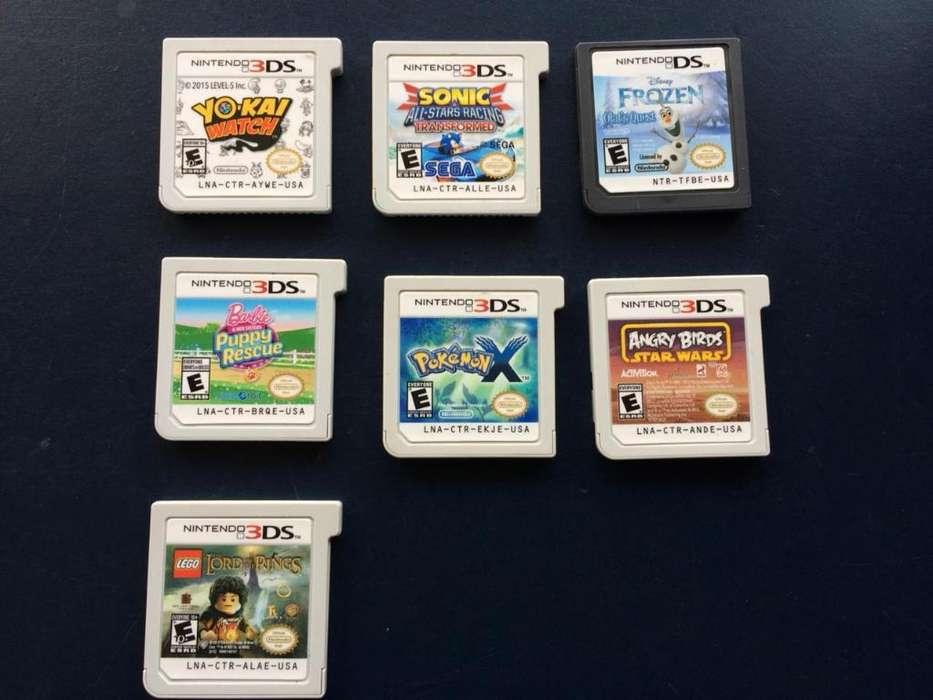 Vendo Juegos de Nintendo 3ds