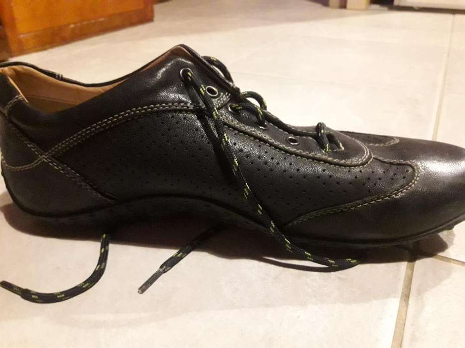Vendo Zapatos Cuero Nro 46