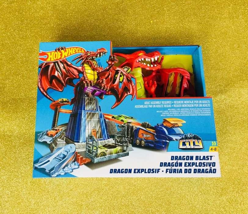 Hot Wheels Dragon Explosivo Original hotwheels