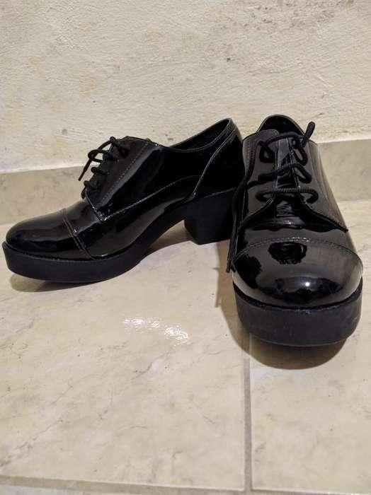 Zapatos de Mujer de Charol N 36 O 37