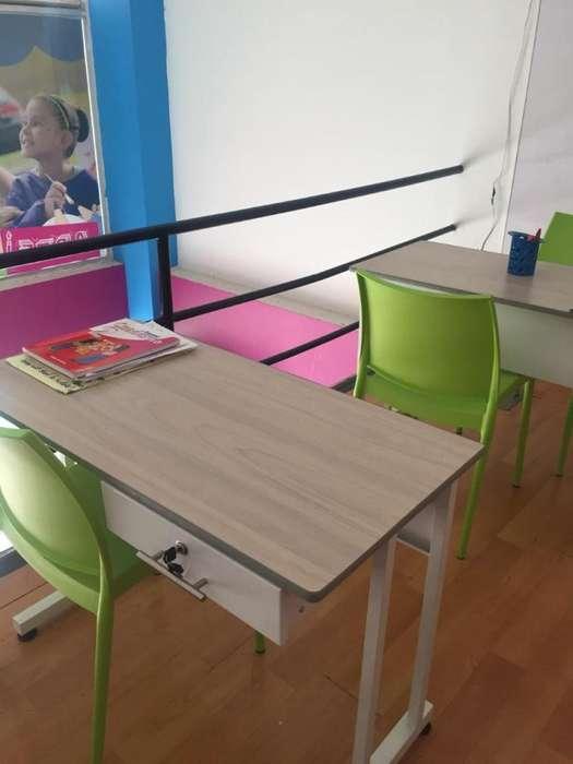 venta de muebles y enseres para oficina y/o jardines infantiles