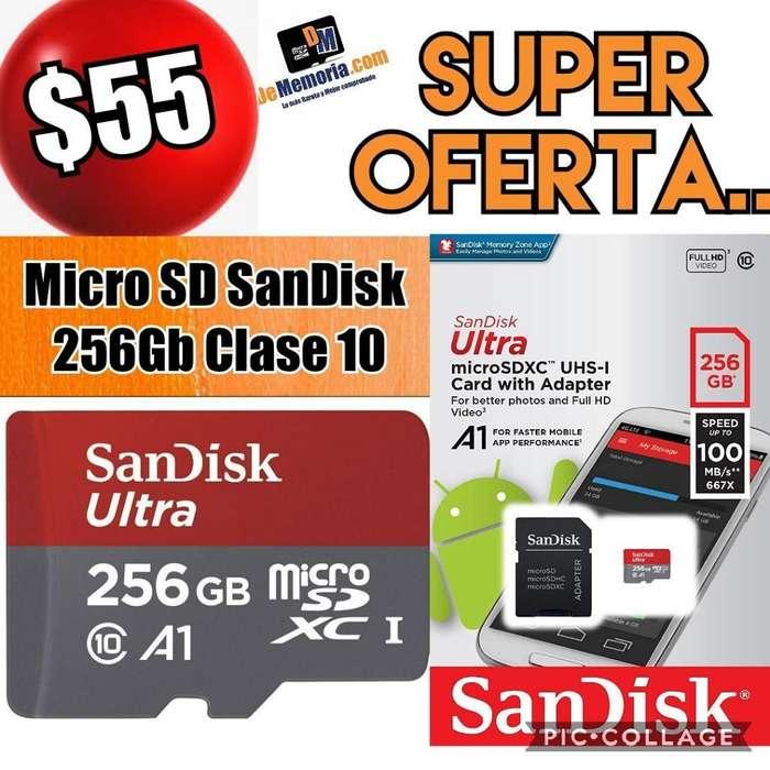 Oferta Memoria Microsd 256gb Sandisk C10