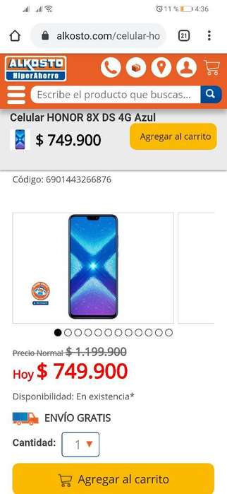 Huawei Honor X8