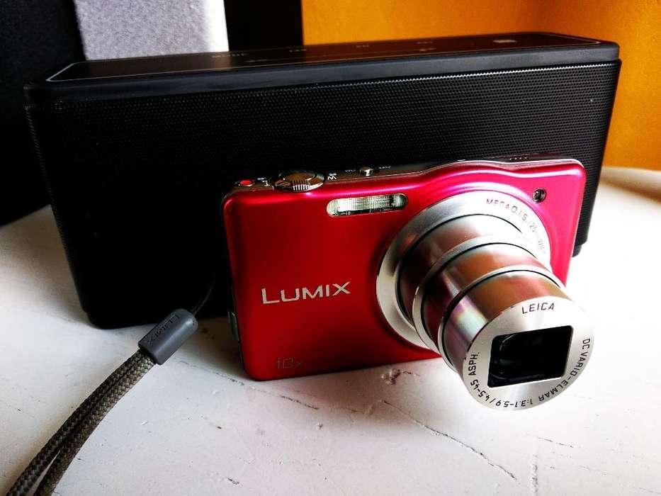 Vendo Lumix con Lente Leica 16mpx
