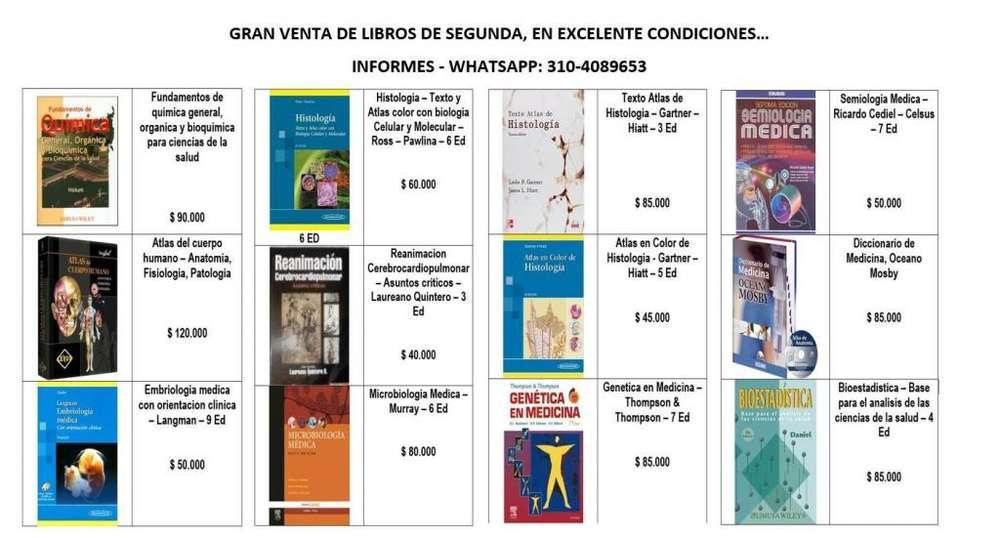 LIBROS DE MEDICINA ECONOMICOS