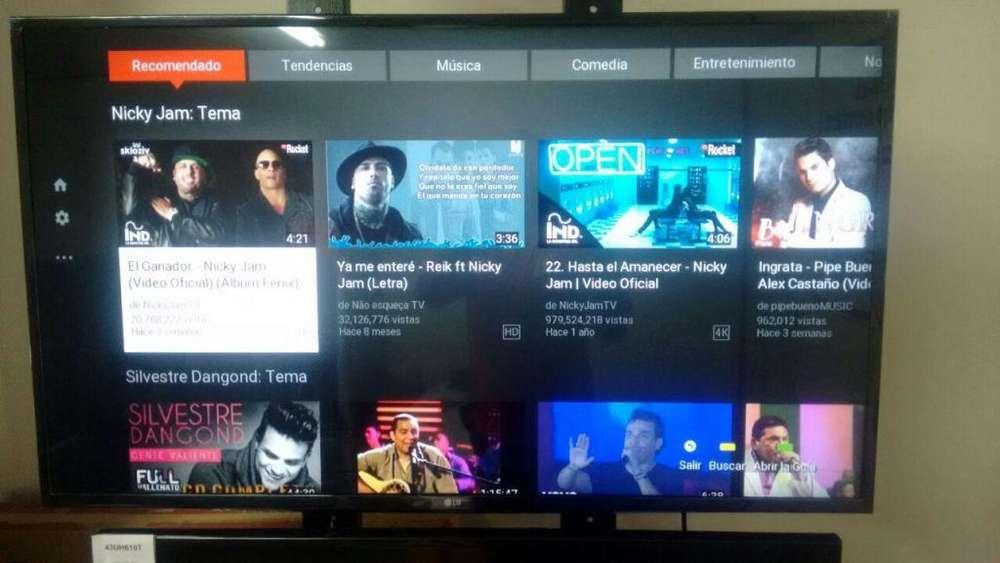 Remate Ultimas Unidades Smart Tv full HD Lg 43 pulgadas