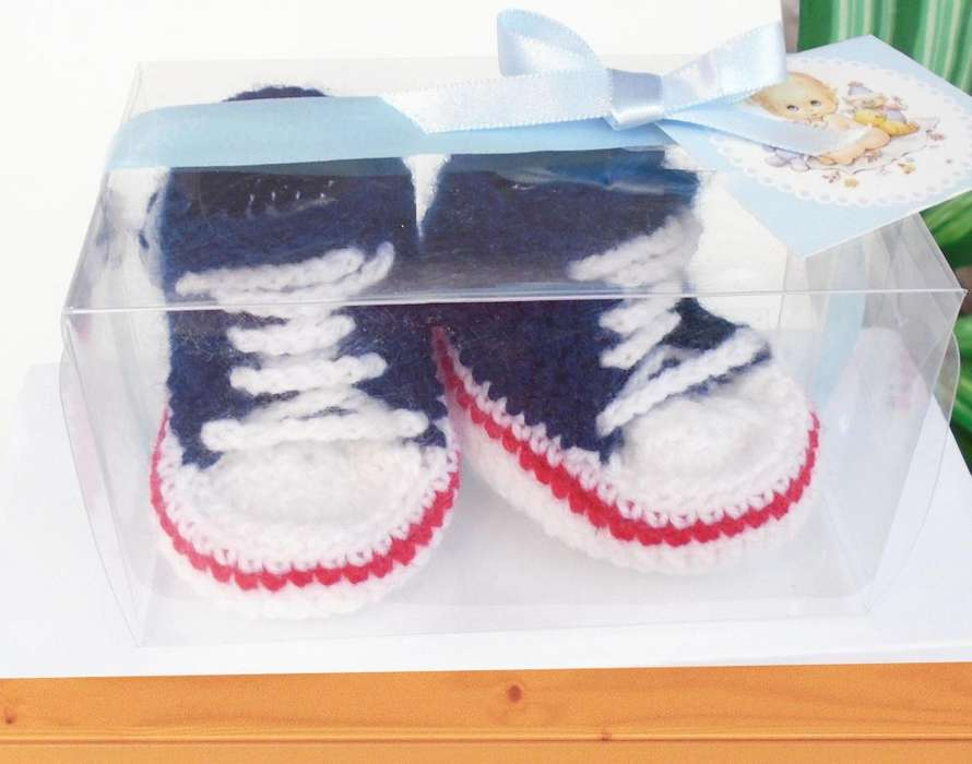d16b10c5 ultimo en stock <strong>zapatitos</strong> bebe crochet talla 0 a