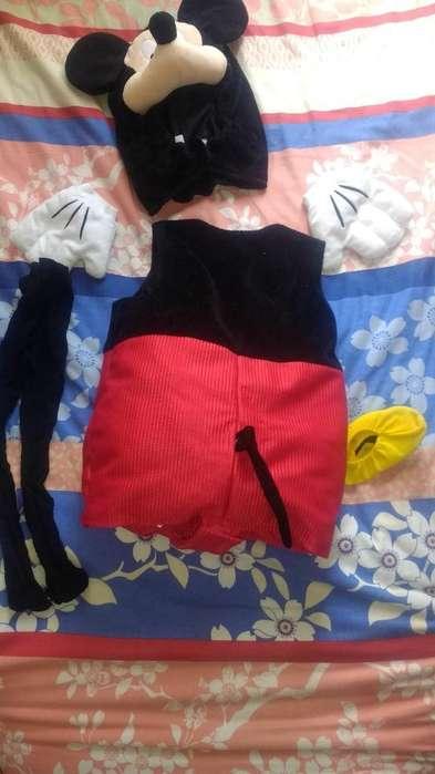 Dizftas Mickey Niño 3@4 Años