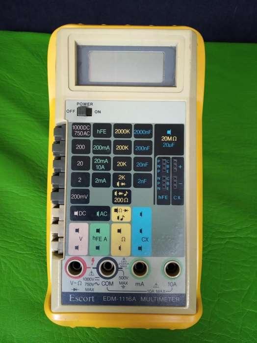 Multimetro Escort EDM-1116A