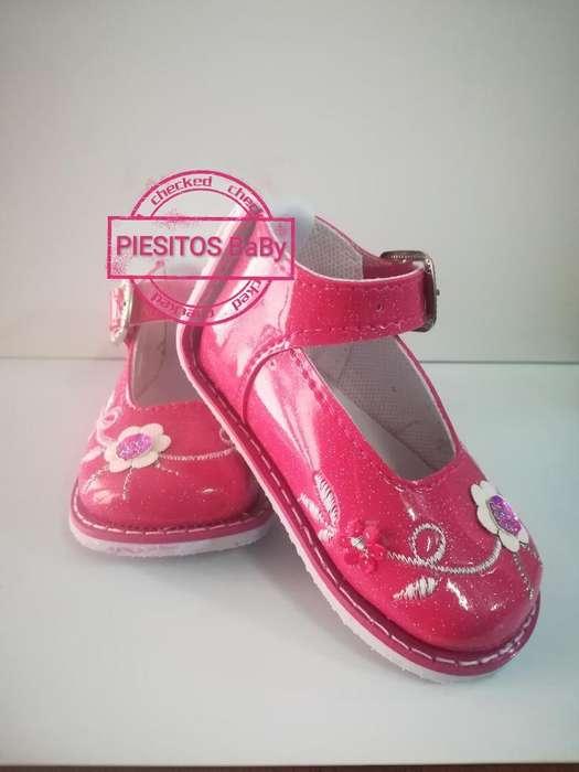 Zapato No Tuerce para Niña Ref 34