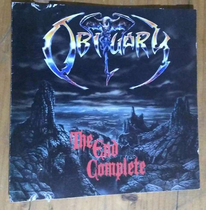 CD COLECCIONABLE BANDA OBITUARY DEAD METAL