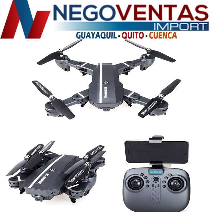 DRON RC 24 HG HASTA 70 MTS DE VUELO CON CAMARA Y VIDEO FACIL MANEJO