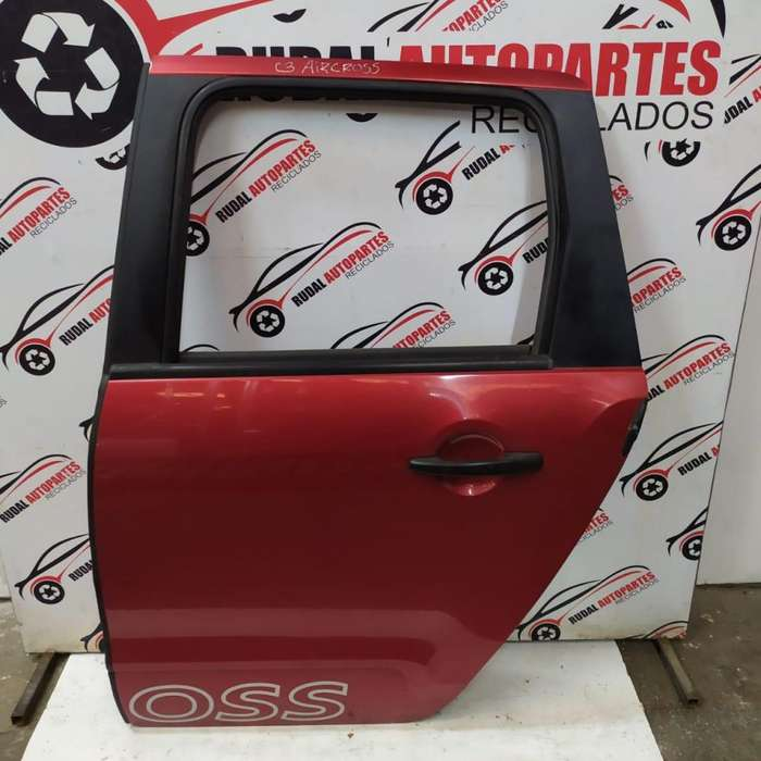 Puerta Trasera Izquierda Citroen C3 Aircross 7125 Oblea:03011839