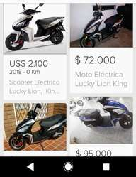 Moto Eléctrica Lucky Lión King