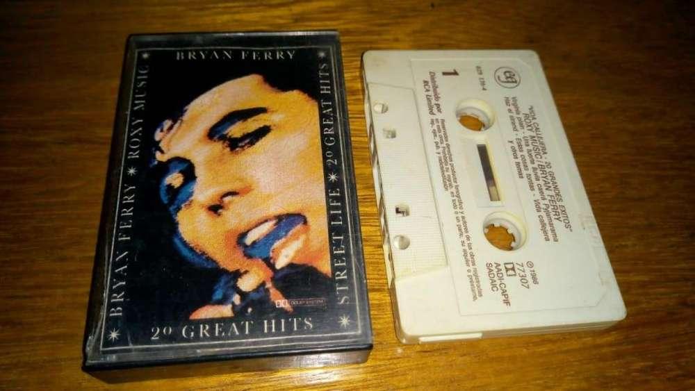 Bryan Ferry, Roxy Music ?– Vida Callejera Street Life 20 Great Hits