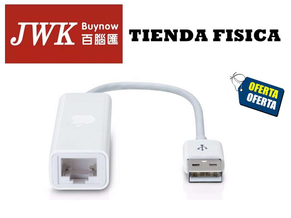 Adaptador Apple Usb 2.0 Ethernet Jwk Vision