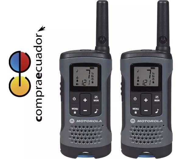 Motorola Radios Comunicación T200 32km Walkie Talkie Recargable