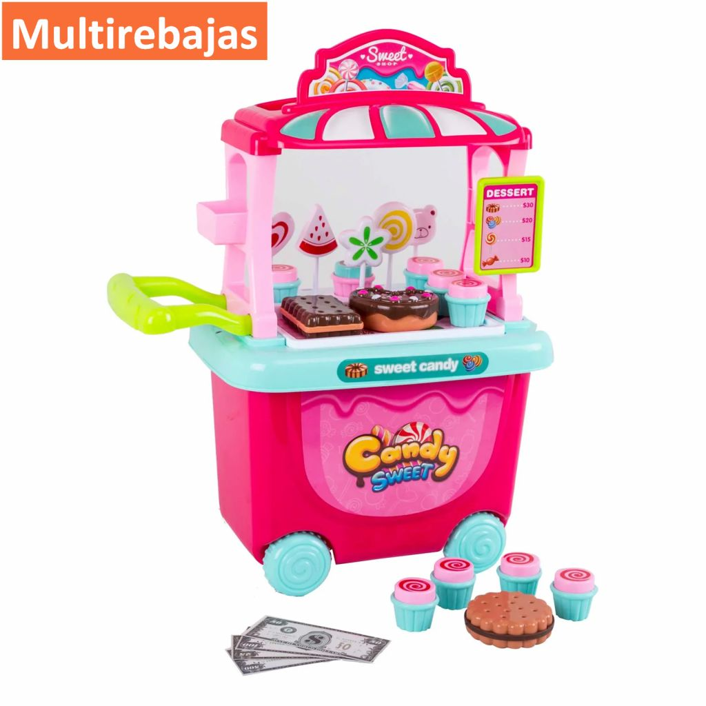 Divertida Tienda De  Dulces Candy Sweet Excelente Para Juego De Niñas