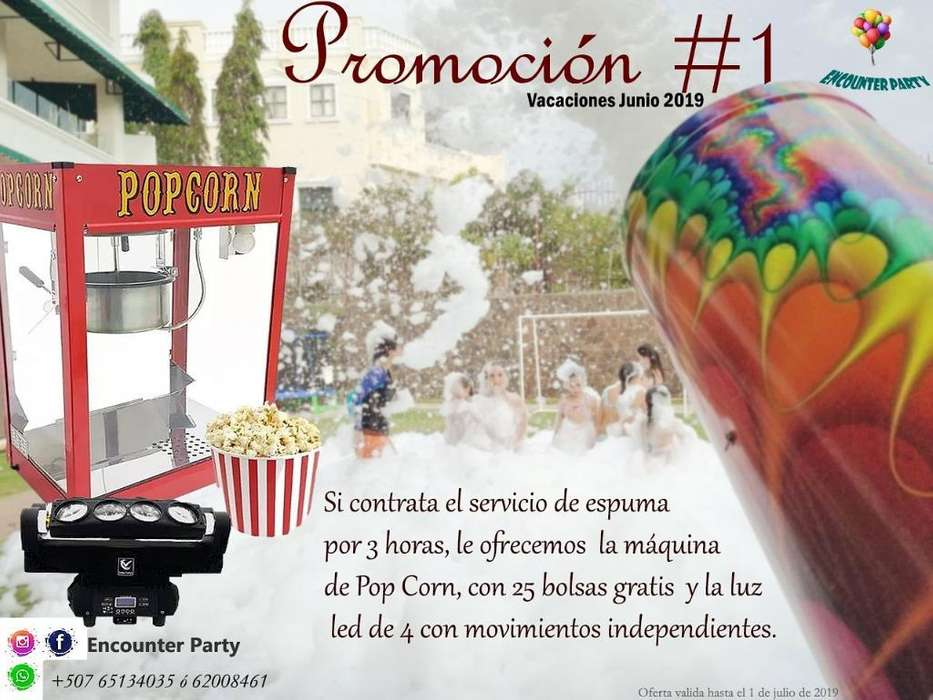 Promoción #1 - Encounter Party Panamá