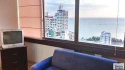 Espectacular apto. de 4 habitaciones con vista al mar. El Rodadero