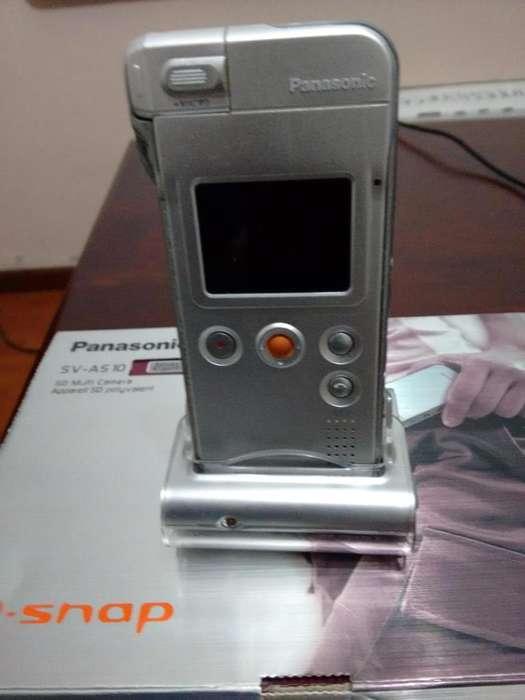 Panasonic Svas10 Dsnap Sd Multi Camara Rotating Lens