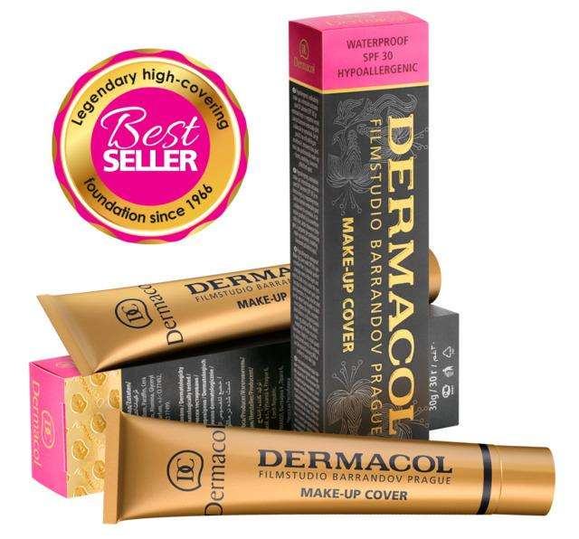 Base Corrector Dermacol Make Up Cover Waterproof Spf 30