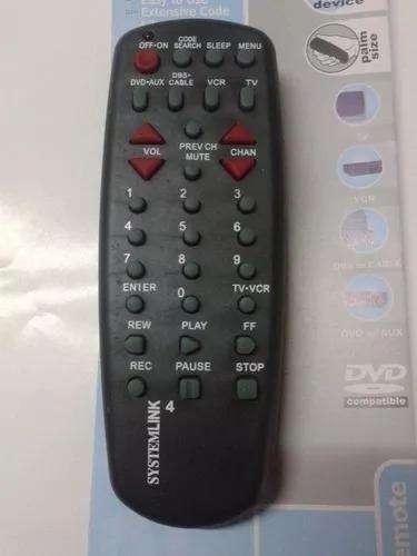 Control Remoto Universal Rcu404 Tvvcrcabledvd Toda Marca