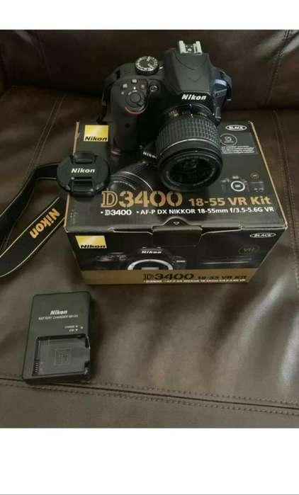 Original Nikon D3400 18-55mm Slr Cam