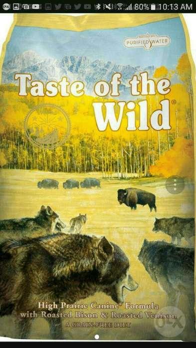 Taste Of The Wild Bisonte X 28 Libras