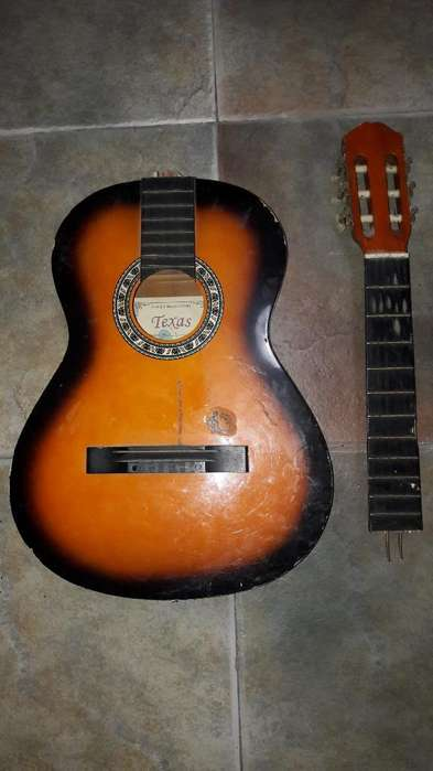 Guitarra Criolla Texas a Reparar