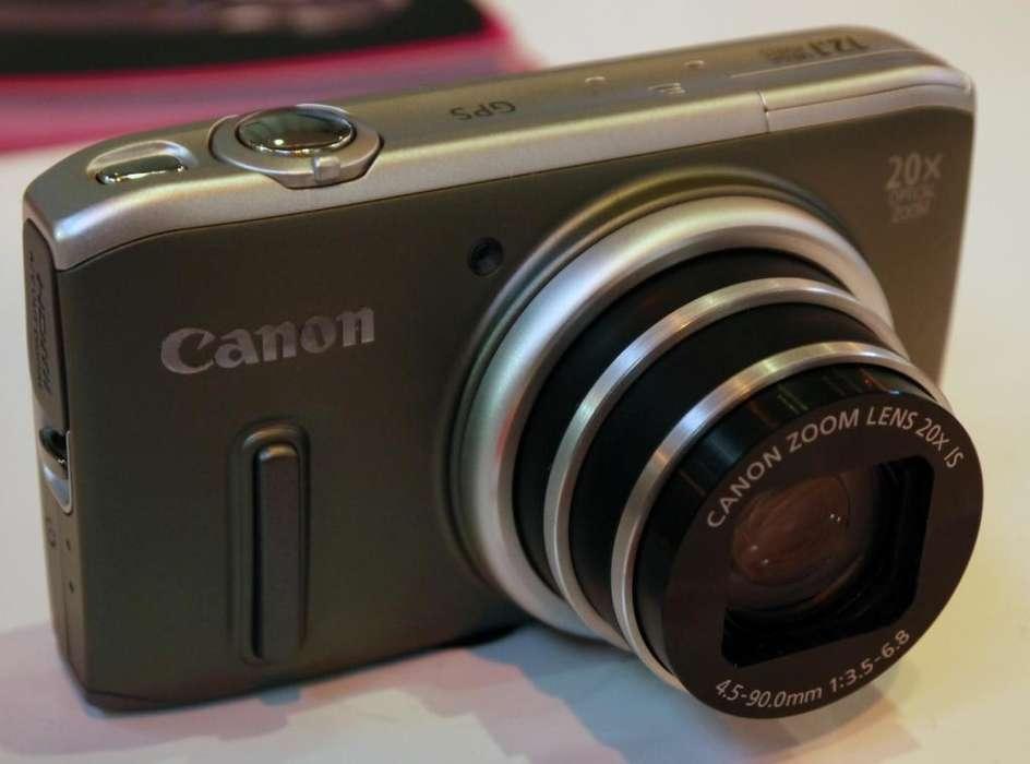 Camara Canon PowerShot SX260 HS