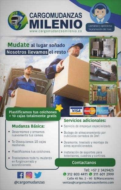 Mudanzas y Trasteos locales y Nacionales 3116012999 3128034411