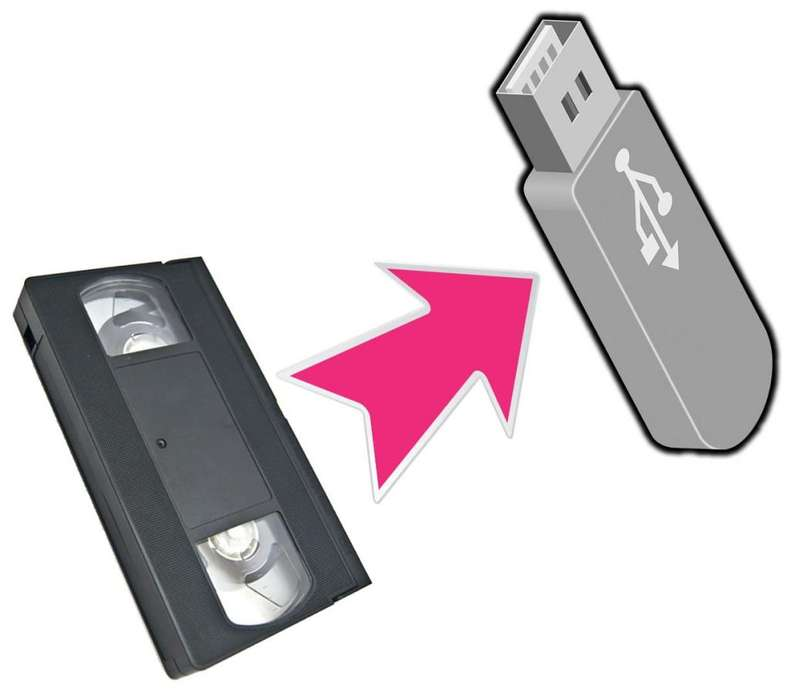 VHS a Pendrive