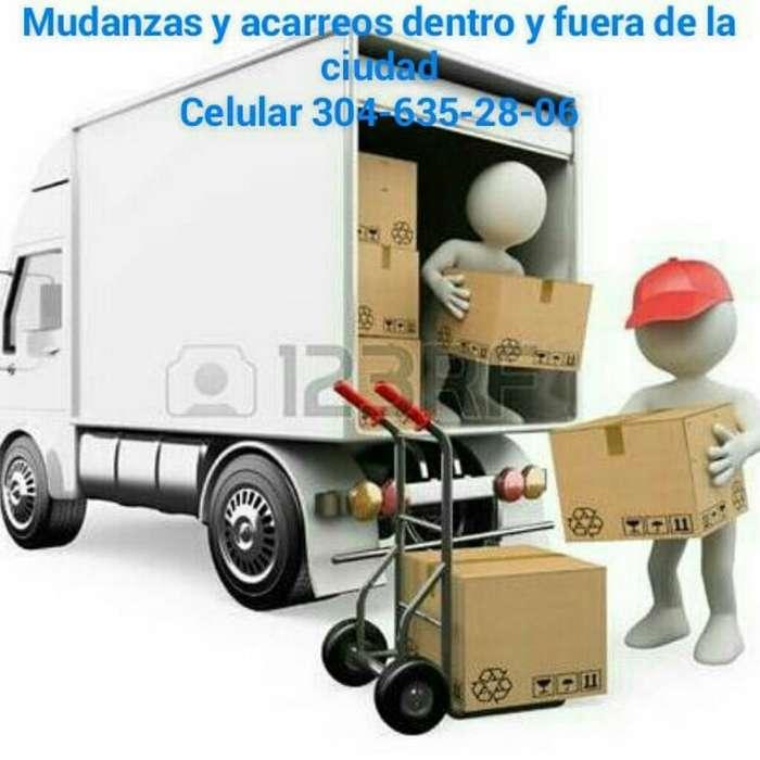 Mudanzas Y Acarreó 3146553754-3023353725