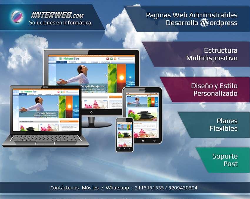 Paginas Web Multipantalla Administrables / Wordpress
