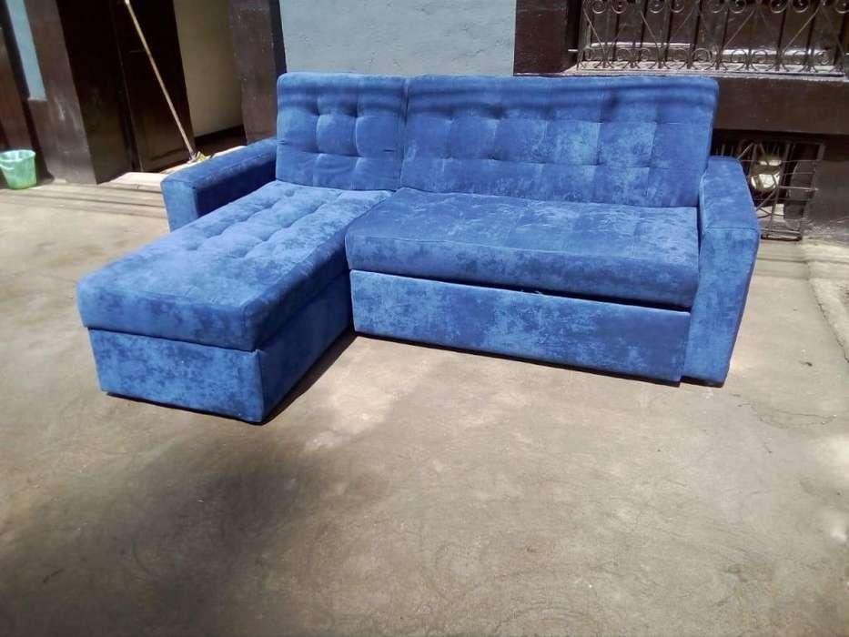 Sala L sofa cama