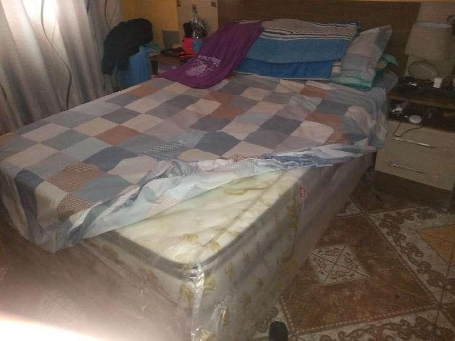 Vendo <strong>cama</strong> de 2 Plazas Semi Nueva
