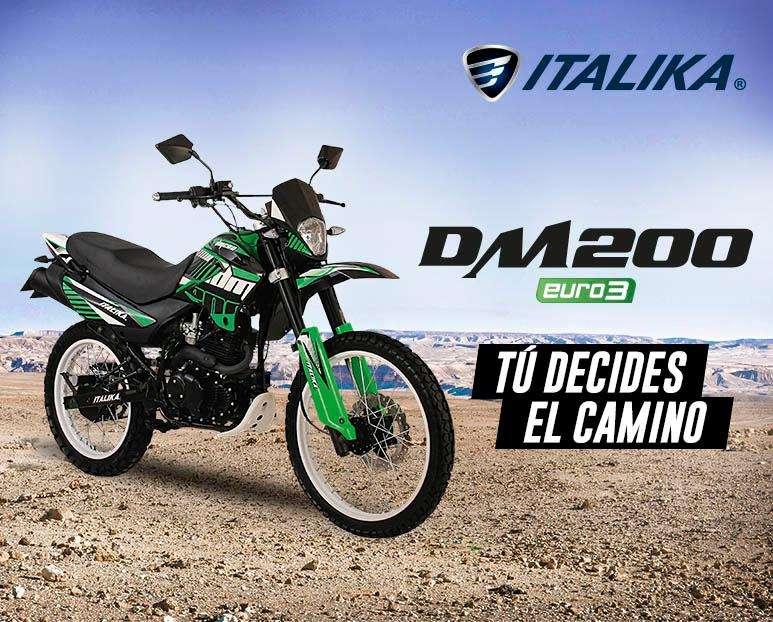 TÚ DECIDES EL CAMINO : Moto Italika DM 200