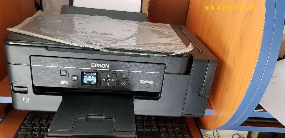 Impresora Multifuncional Epson L495 Sist