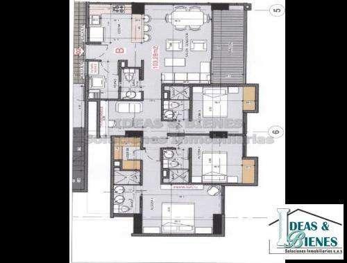 <strong>apartamento</strong> En Venta Envigado Sector Cumbres: Còdigo 843409