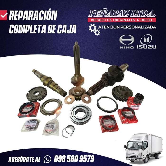 REPARACIÓN COMPLETA DE CAJA