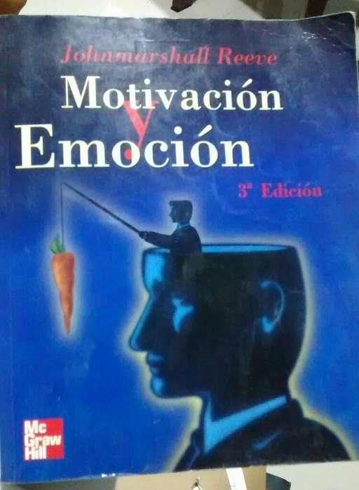 Libro Motivación Y Emoción