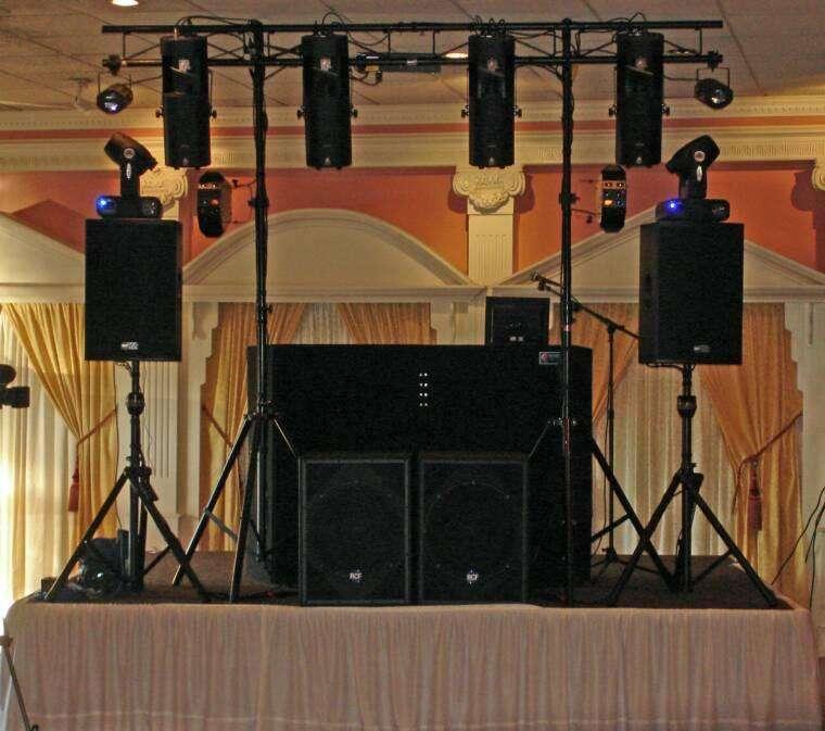 Evento total. Alquilamos sonido e iluminación para todo evento quinces, matrimonios, proms, grados,cumples, empresas..