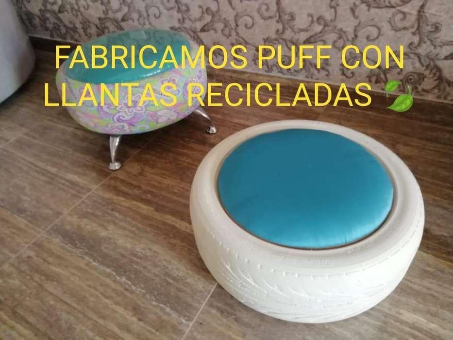 Fabricación de Muebles con Llantas Recic