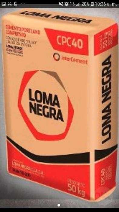 Cemento 50 Kg Loma Negra