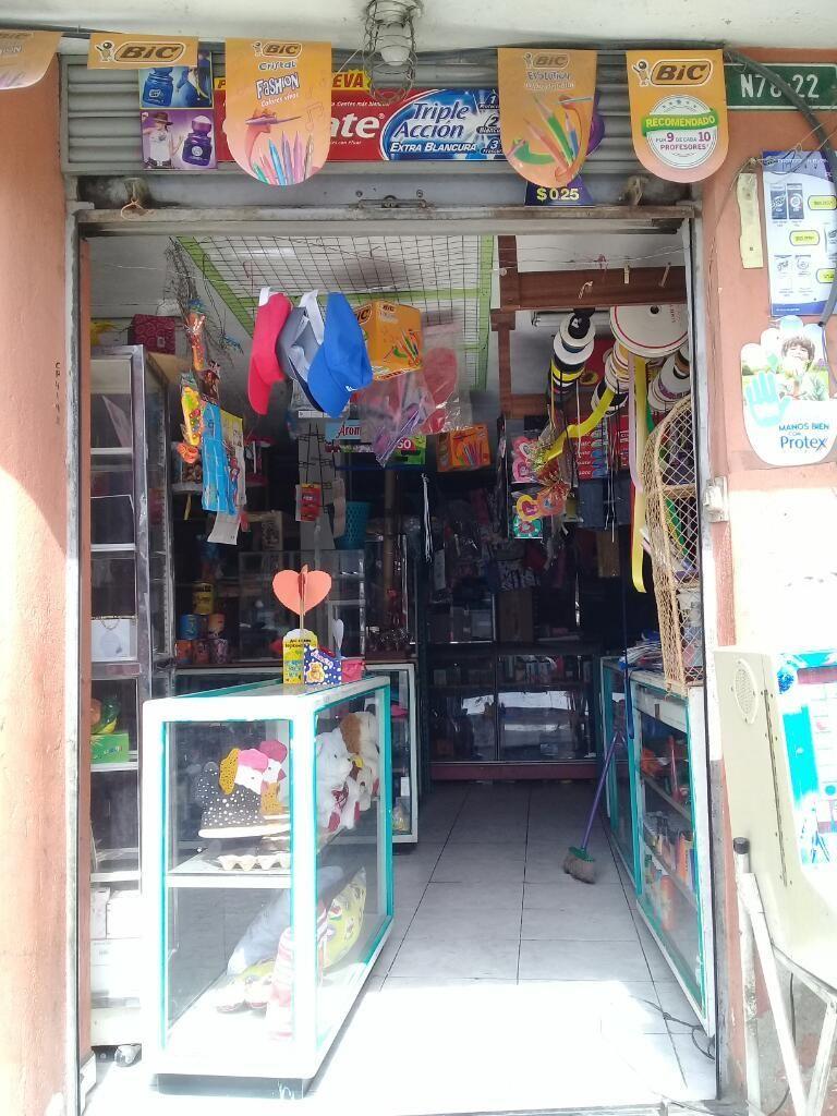 Vendo Bazar Papeleria