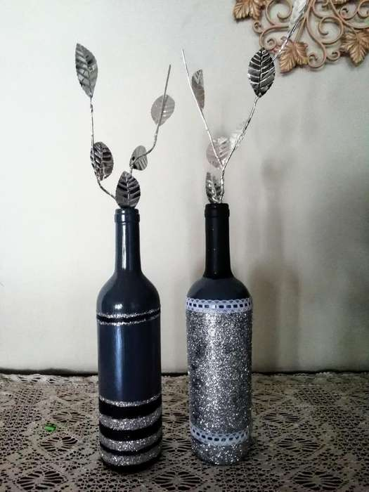 Vendo Botellas Decoradas