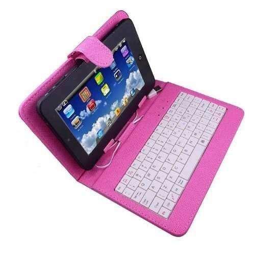 Estuche para tablet 7 universal, con teclado
