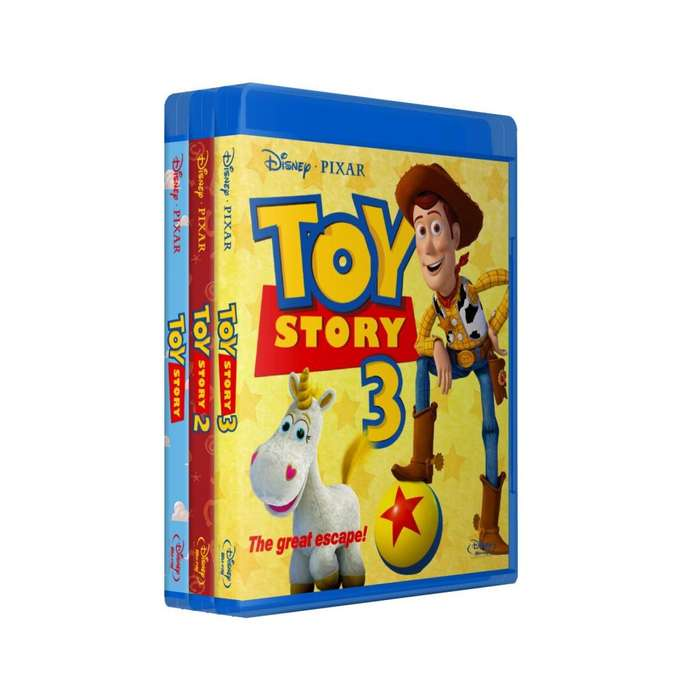 Toy Story 1 2 3 4 Saga Bluray Latino/ingles Subt Español
